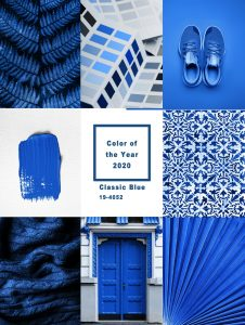 Classic Blue is the Pantone Colour of the Year 2020
